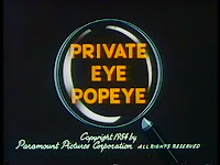 Private Eye Popeye