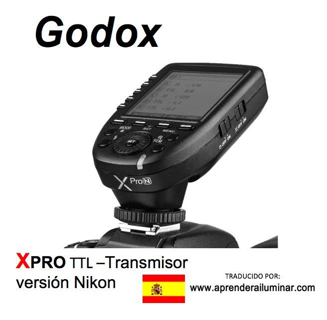 Godox Xpro TTL Español PDF