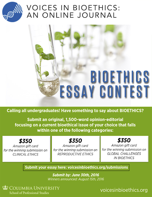medical student essay contest