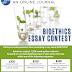 Bioethics Essay Contest (cash prizes)