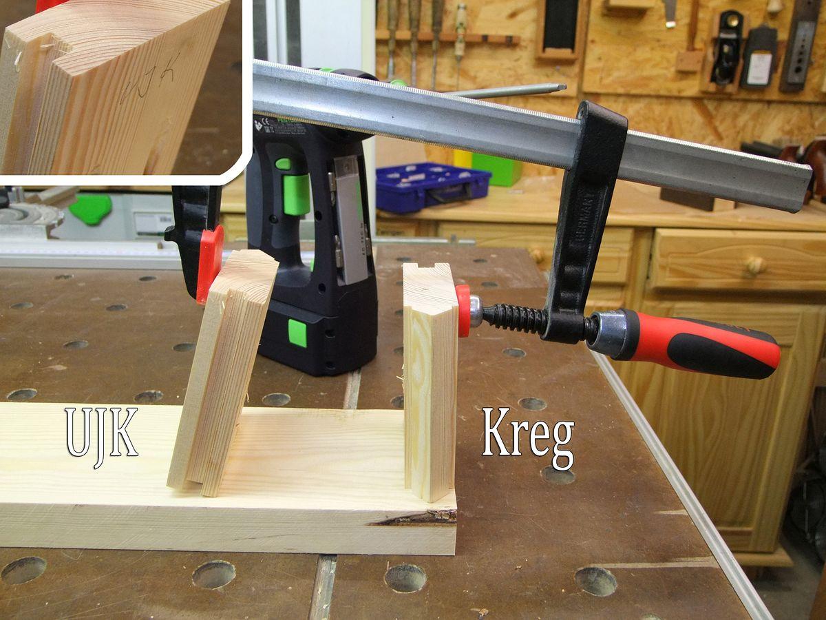 Hervorragend Michas Holzblog: Tipp: Alternative Pocket Hole Schrauben - Spax XQ49