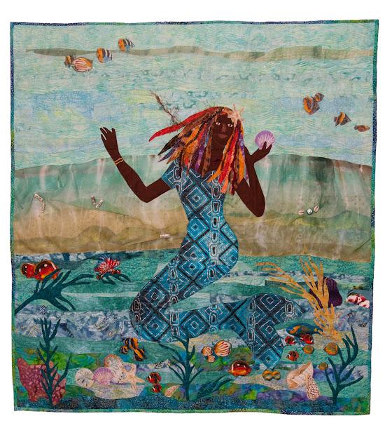 African American Mermaid Art