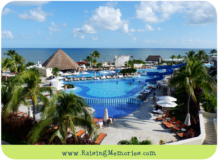 Moon Palace Cancun Pools and Waterslide