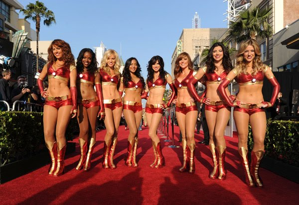 team of iron man girls