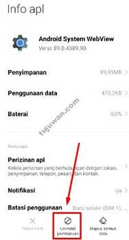 Aplikasi MSA Terus Berhenti Cara Mengatasi MSA Xiaomi