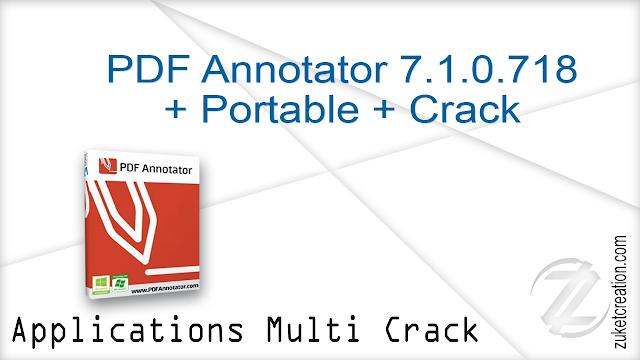 PDF Annotator 7.1.0.715 + Crack  |  52.0 MB