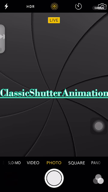 ClassicShutterAnimation is a cydia tweak which actually brings back the classic shutter animation to iOS 7 or later.