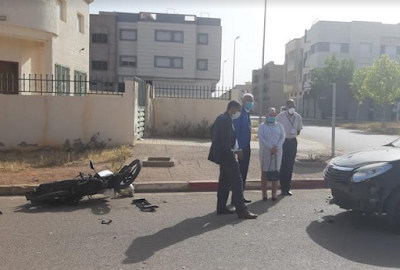 تعرض ثلاث أستاذات مراقبات بمديرية بمولاي يعقوب لحادثة سير في أول أيام الباك 2020