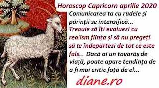 Horoscop aprilie 2020 Capricorn