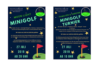 Upcoming events at Minigolf Neuhaus in Germany