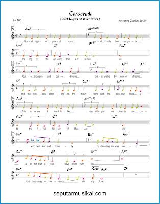 Corcovado ( Quiet Nights of Quiet Stars )  chords jazz standar