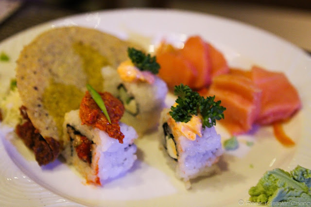 Sushi of the Spice Market in Misibis Bay Resort