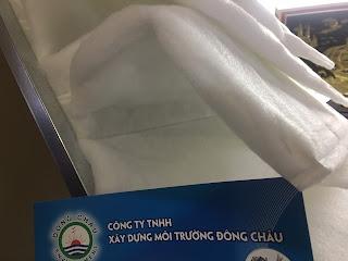 Khung lọc khí camfil G4 dạng túi lọc thô