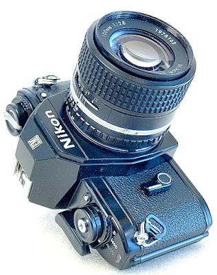 Nikon EM, Nikon Series E 100mm F2.8, view