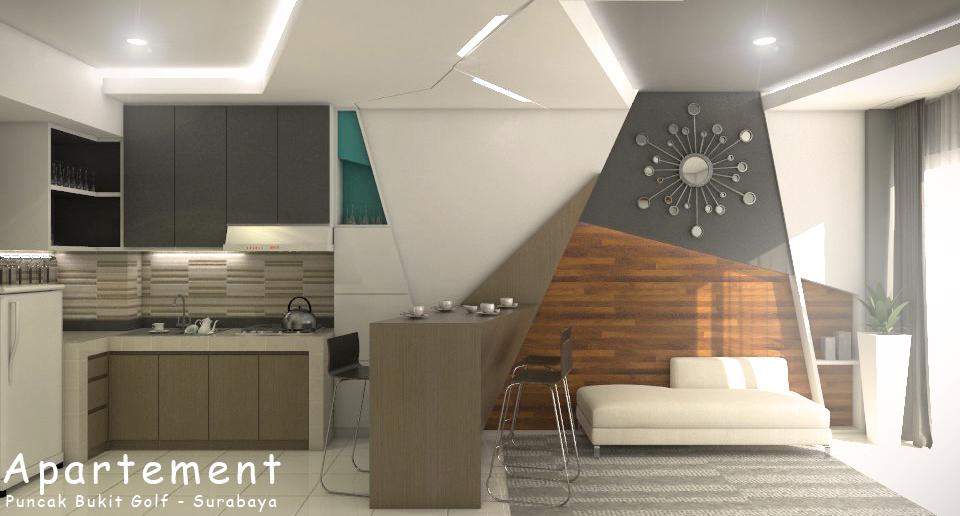 Apartement design puncak bukit golf surabaya srengenge for Design interior surabaya