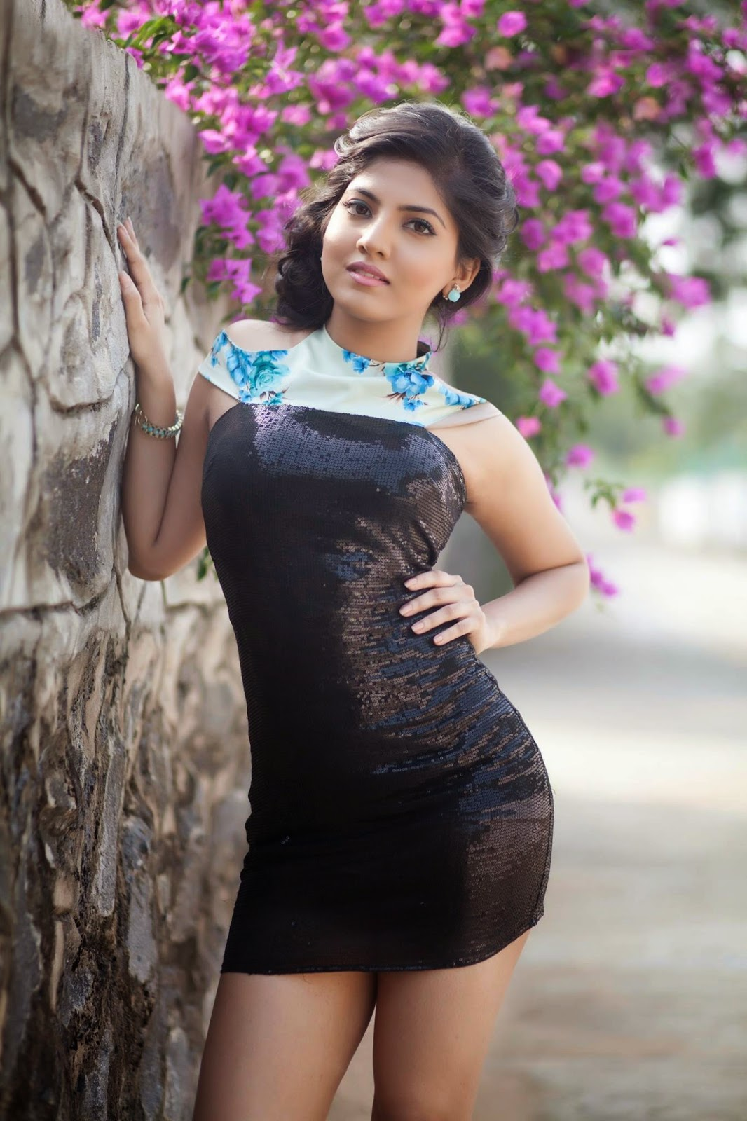 Actress Anaswara Latest Cute Hot Spicy Photoshoot Gallery