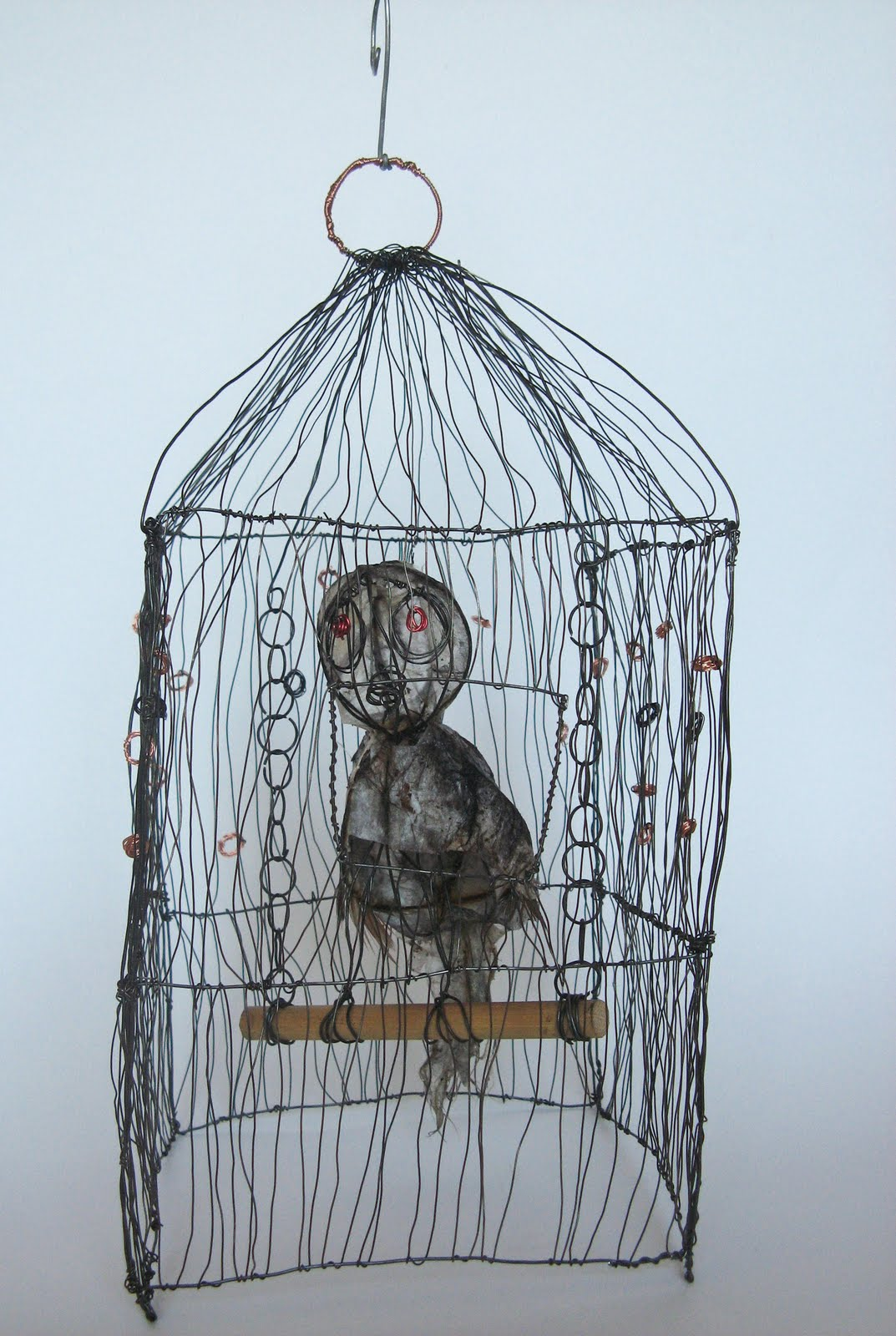 Jennifer Boxall Gray Design Wire Sculpture
