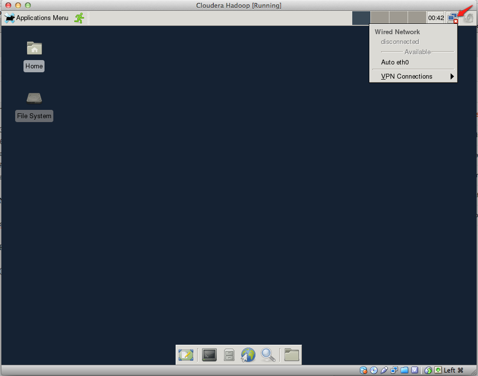 Integration of R, RStudio and Hadoop in a VirtualBox