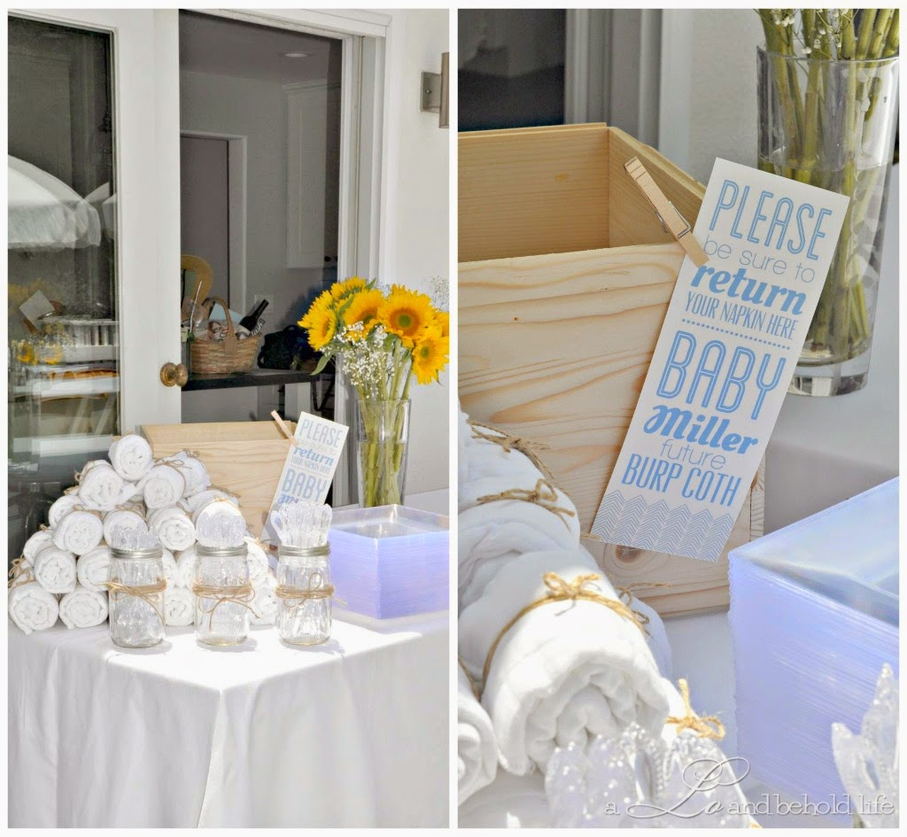 Rustic Backyard BBQ Baby Shower | A Lo and Behold Life