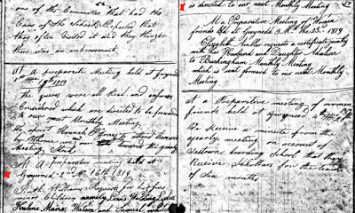Climbing My Family Tree: Gwynedd Preparative Meeting Record, Montgomery County, PA, 16 Feb 1819