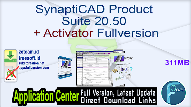 SynaptiCAD Product Suite 20.50 + Activator Fullversion