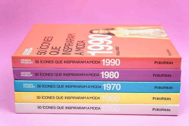 livro 50 icones que inspiraram a decada 1970