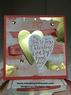 Stampin' Up! Sure Do Love You Shimmer Ribbon Pack Metallic Enamel Shapes
