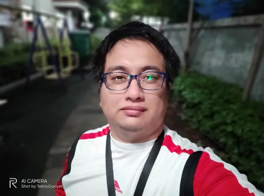 Realme 6 Pro Camera Sample - Outdoor, Evening, Portrait Selfie