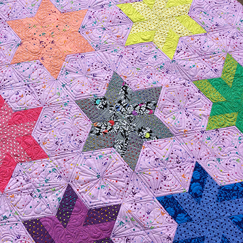 New Pieced Quilt Pattern CHARLOTTE/'S LACE II  3 Sizes