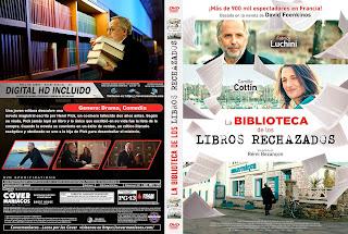 LA BIBLIOTECA DE LOS LIBROS RECHAZADOS – Le Mystère Henri Pick – 2019 [COVER DVD]