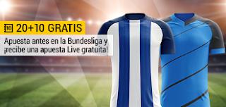 bwin promocion 10 euros Hertha vs Hoffenheim 31 marzo