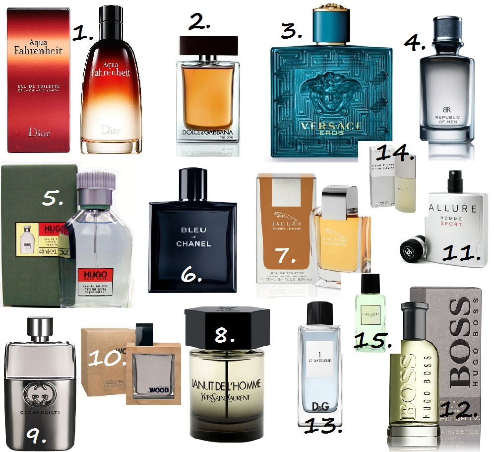 The 5 Best Men's Fragrances