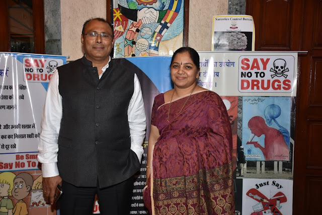Narcotics Awareness Drive hosted by Gopi Birla Memorial School