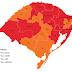 Urgente: região das Missões é classificada em bandeira laranja