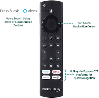 """Croma 32"""" HD and 43"""" FHD Fire TV Edition Smart LED TV full specifications"""