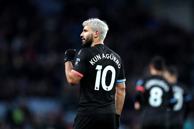 Lập hat-trick, Aguero tạo liền 2 cột mốc lịch sử mới
