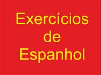 Exercício: palavras muito diferentes em espanhol