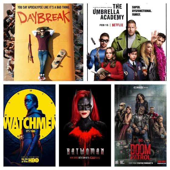 Las 5 Peores Series Basadas en Cómics Estrenadas en 2019