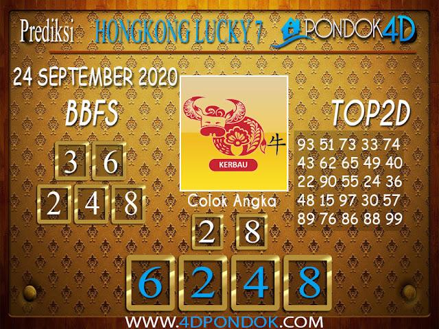Prediksi Togel HONGKONG LUCKY 7 PONDOK4D 24 SEPTEMBER 2020