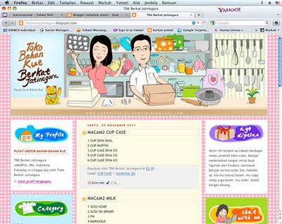 Toko Bahan Kue Berkat Jatinegara ~ template manis.com