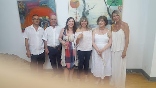 Inauguración Muestra Diana Giménez Figueroa.