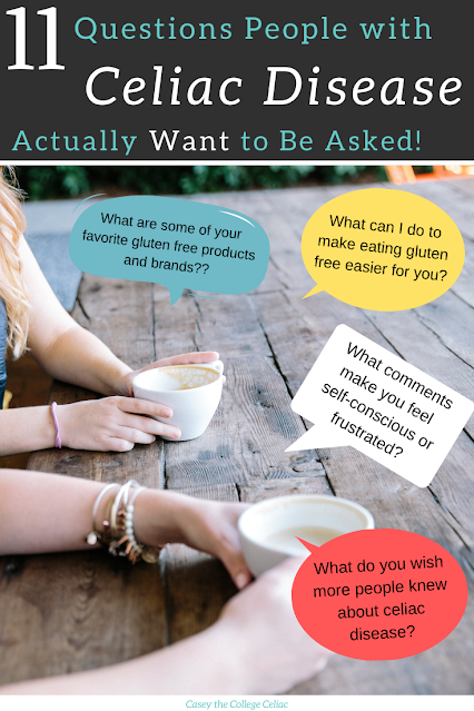 What do people with #celiacdisease really want to be asked? Here are 11 questions people with #celiac appreciate hearing! #glutenfree #chronicillness
