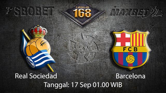 Prediksi Bola Jitu Real Sociedad vs Barcelona 17 September 2018 ( Spanish La Liga )