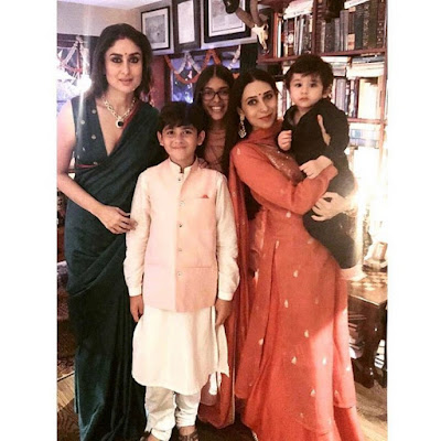 Kapoor Family and Khan Family Celebrates Diwali