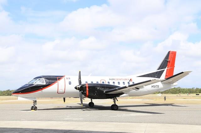 Air Century anuncia cancelación de vuelos por huracán María