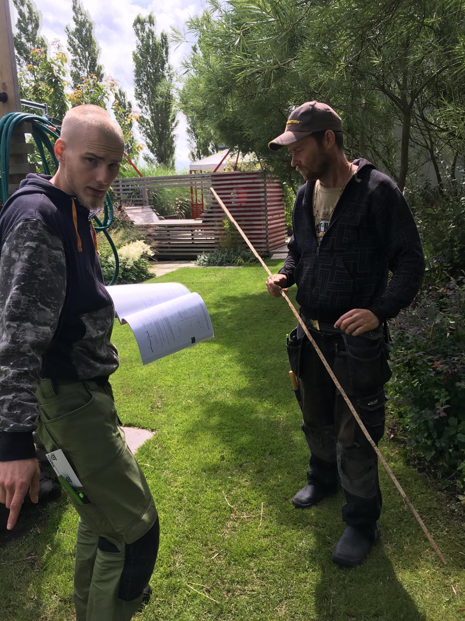 Cattis och Eiras Trädgårdsdesign: juli 2016