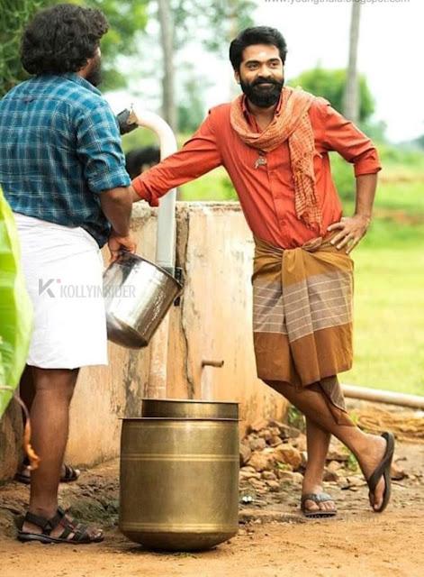 Check out Slim & Trim Simbu in 'Eeswaran' Movie Stills [Pics]