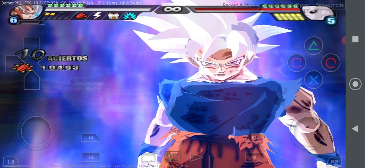 DBZ BT3 MOD Goku Ultra Instinct