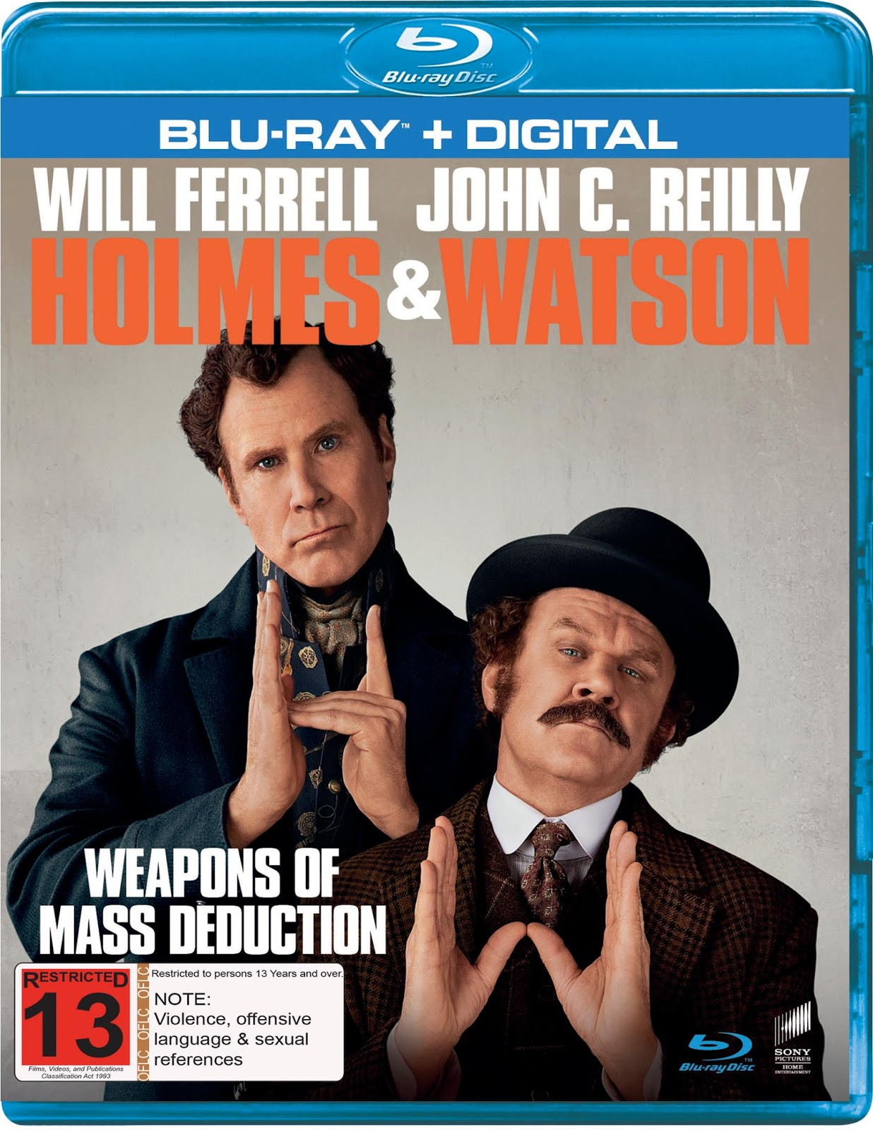 Holmes watson blu ray review