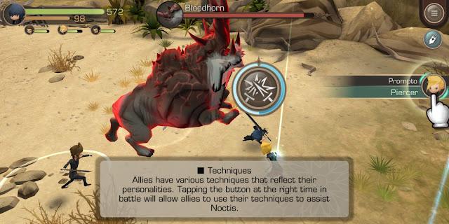 Is Final Fantasy XV Pocket Edition worth buying - Skills